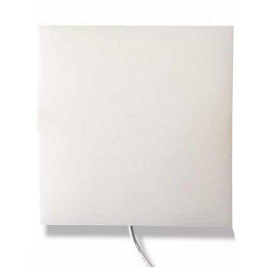 Plafon Led embutir borda Infinita 36w quadrado Slim Bivolt