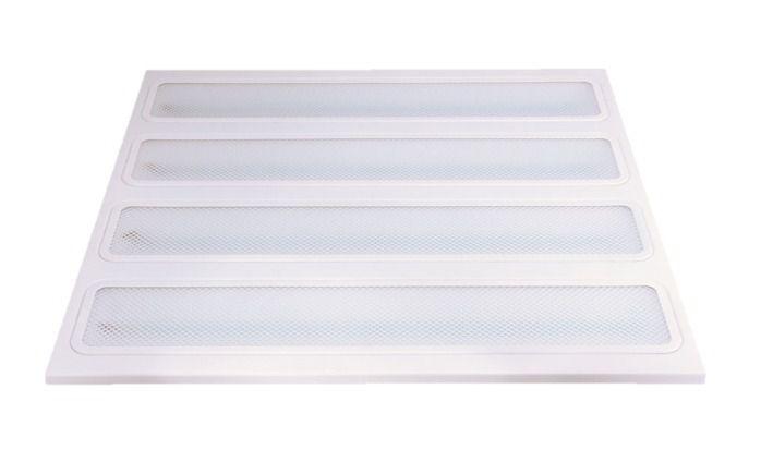 Painel de led plafon 96w sobrepor 60x60 branco frio 8000k