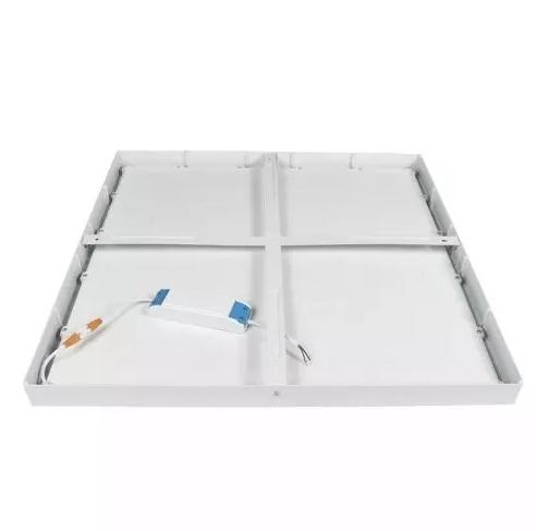 Painel Plafon Sobrepor Quadrado Led 48w Bivolt 60x60 Branco Tecnologia Siemens