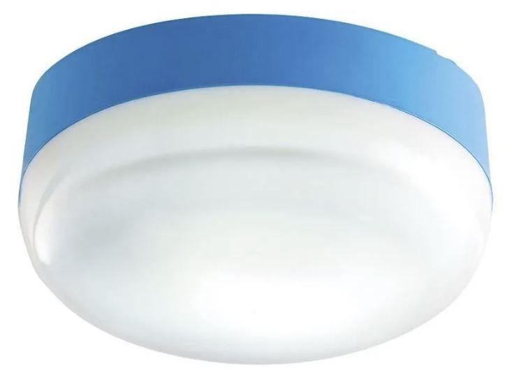 Plafon Disco Lustre Lagoinha Led 20W Branco, Rosa e Azul Bivolt Bemplas 5389 - 5390 - 5385