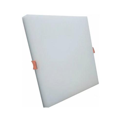 Plafon Led Embutir Borda Infinita 24W Quadrado Slim Bivolt