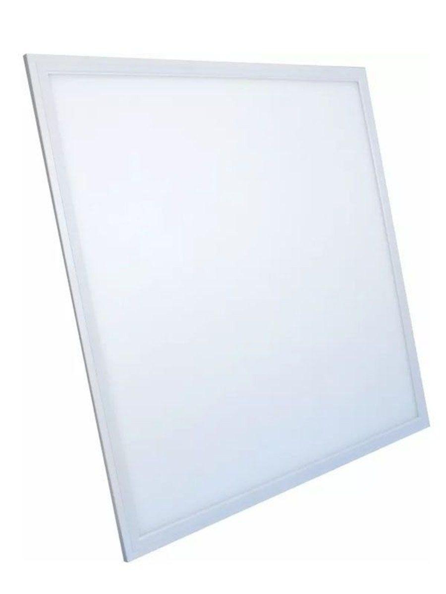 Plafon LED Luminária Quadrado Embutir 48w 60x60 Branco quente 3000k Tecnologia Siemens