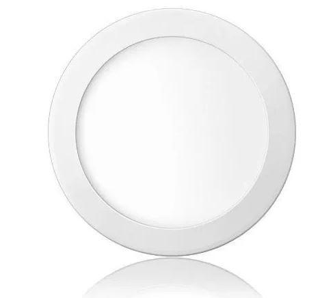 Plafon LED Luminária Redondo Embutir 18w Branco Frio 6000k Tecnologia Siemens