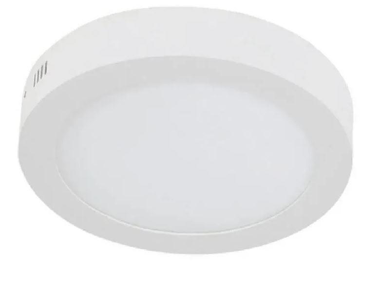 Plafon LED Luminária Redondo Sobrepor 12w Branco frio 6500k Tecnologia Siemens