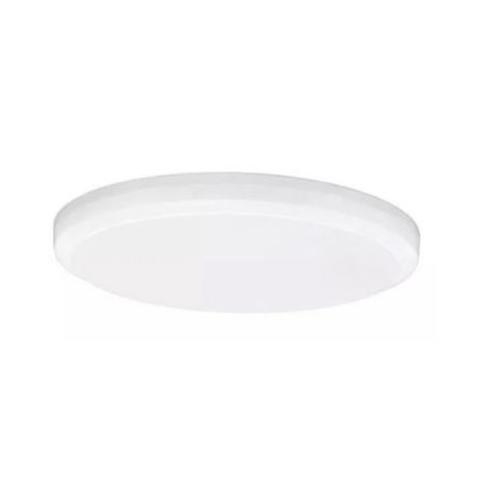 Plafon Led Titanium Embutir Borda Infinita 24W Redondo