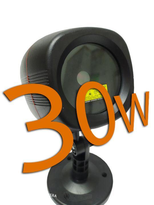 Projetor holográfico de Led natalino IP65  a prova d'água Bluetooth 30w vermelho / verde (Tecnologia Epson)