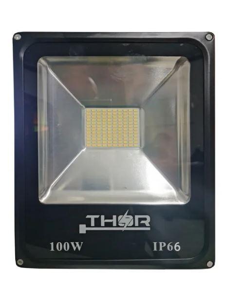 Refletor 100w Smd (GOLD) led 6500k Branco Frio Bivolt IP66 Resistente a chuva