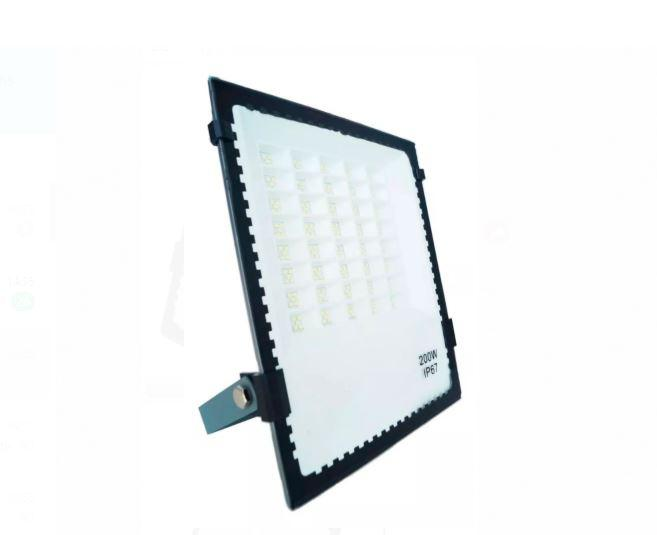 Refletor de Led holofote 200w Micro Led SMD IP67 Branco frio 6500k