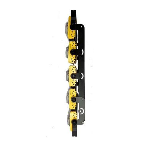 Refletor de Led Linear para Campo | Quadra 1000W IP68 Flood Light Cinco Módulos Direcionável Modelo 2021 - GOLD