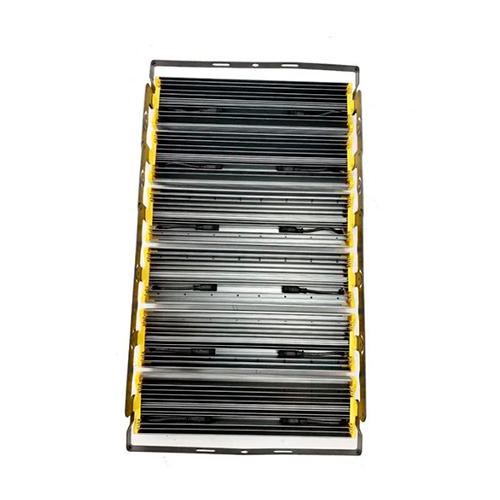 Refletor de Led Linear para Campo | Quadra 1200W IP68 Flood Light Duplo Seis Módulos Direcionável Modelo 2021 - GOLD