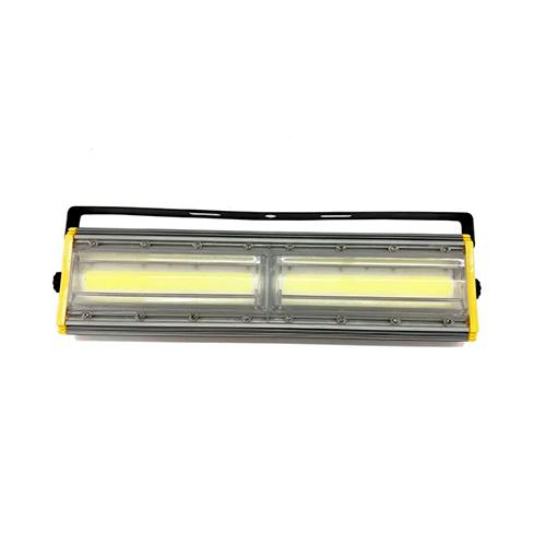 Refletor de Led Linear para Campo | Quadra 200W IP68 Flood Light Duplo Um Módulo Direcionável Modelo 2021 - GOLD