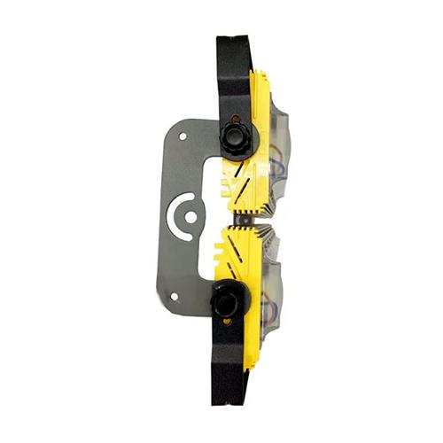Refletor de Led Linear para Campo   Quadra 400W IP68 Flood Light Duplo Dois Módulos Direcionável Modelo 2021 - GOLD
