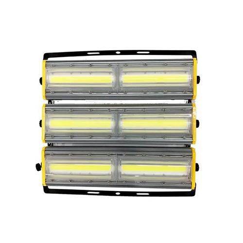 Refletor de Led Linear para Campo | Quadra 600W IP68 Flood Light Direcionável Duplo Três Módulos Modelo 2021