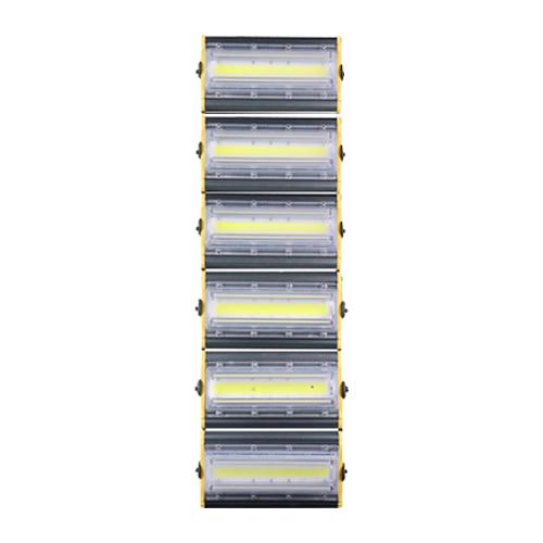 Refletor de Led Linear para Campo | Quadra 600W IP68 Flood Light - Direcionável Modelo 2021