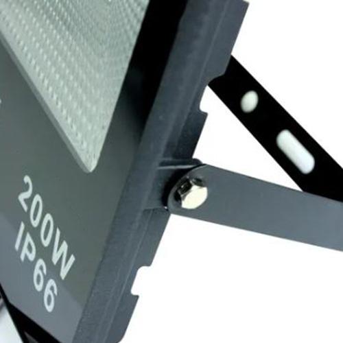 Refletor de Led SMD 200W Flood Light Branco Frio IP66