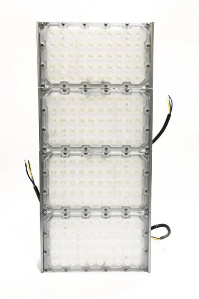 Refletor Holofote Industrial Modelo 2021 Flood Light 400w IP68 Quatro Módulos Number Two (Tecnologia Militar)