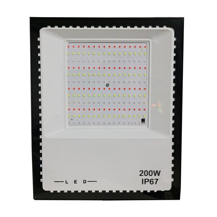 Refletor Holofote Micro Led 200w Smd Rgb Colorido Bivolt
