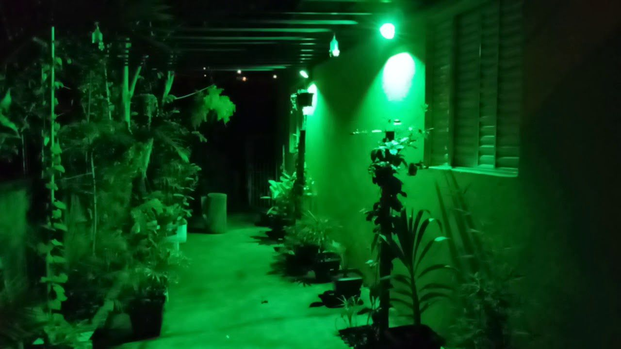 Refletor Holofote Micro Led Verde 10w Smd Bivolt