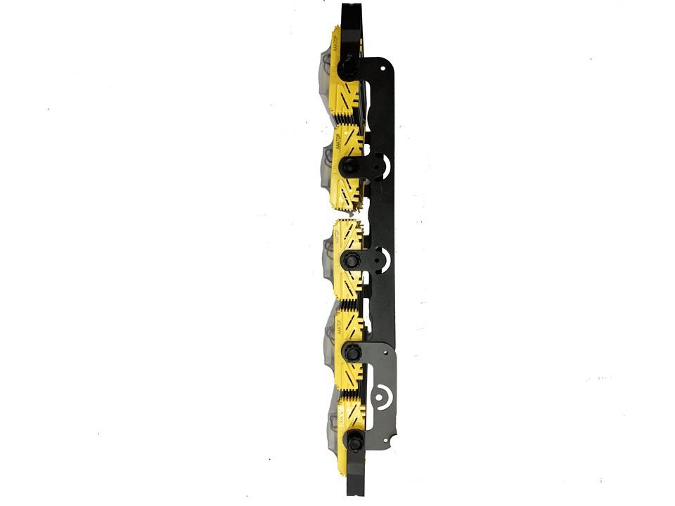 Refletor Industrial Modelo 2021 Flood light Linear 1000w Cinco Módulos Direcionável (Tecnologia Militar)