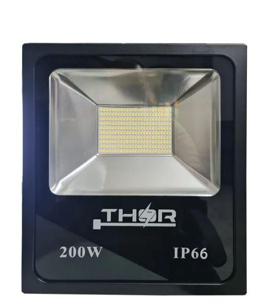 Refletor Led 200w Smd (GOLD) 6500k Branco Frio Bivolt IP66 Resistente a chuva
