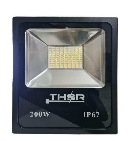 Refletor Led 200W Smd 6500k Branco Frio Bivolt IP67 a prova d'água - GOLD