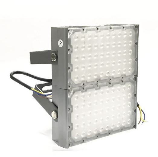 Refletor Led (GOLD) Modelo 2021 Flood Light 200w IP68 Dois Módulos Number Two (Tecnologia Militar)