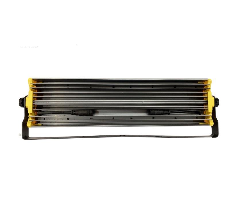 Refletor Led (GOLD) Modelo 2021 Flood light Linear 200w IP68 Duplo Um Módulo Direcionável (Tecnologia Militar)