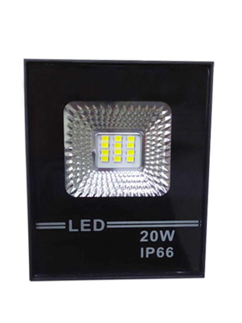 Refletor Led Holofote Smd 20w Microled IP66 Branco Quente Bivolt