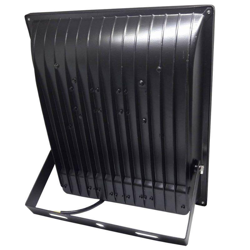 Refletor Led Holofote Smd 400w Microled IP66 Branco Quente Bivolt