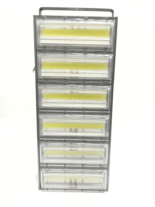 Refletor Led Modelo 2020 Flood light 600w IP68 Três Módulos N3 (Tecnologia Militar)