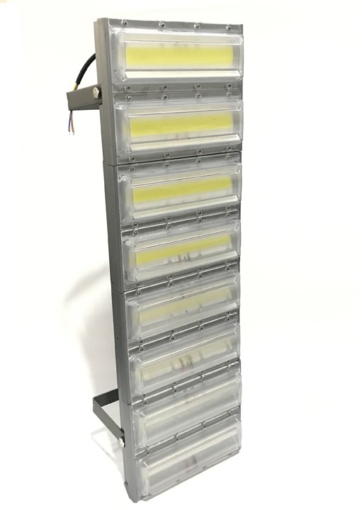 Refletor Led Modelo 2021 Flood light 800w IP68 Quatro Módulos N3 (Tecnologia Militar)
