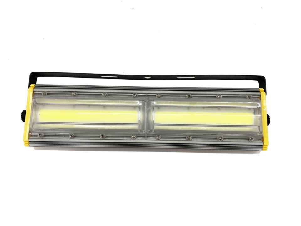 Refletor Led Modelo 2020 Flood light Linear 200w IP68 Duplo Um Módulo Direcionável (Tecnologia Militar)