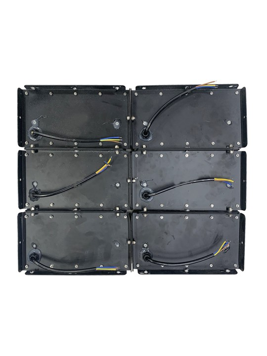Refletor Led Modelo 2020 Flood light Number one 400w IP68 6 Modulos (Tecnologia Militar)