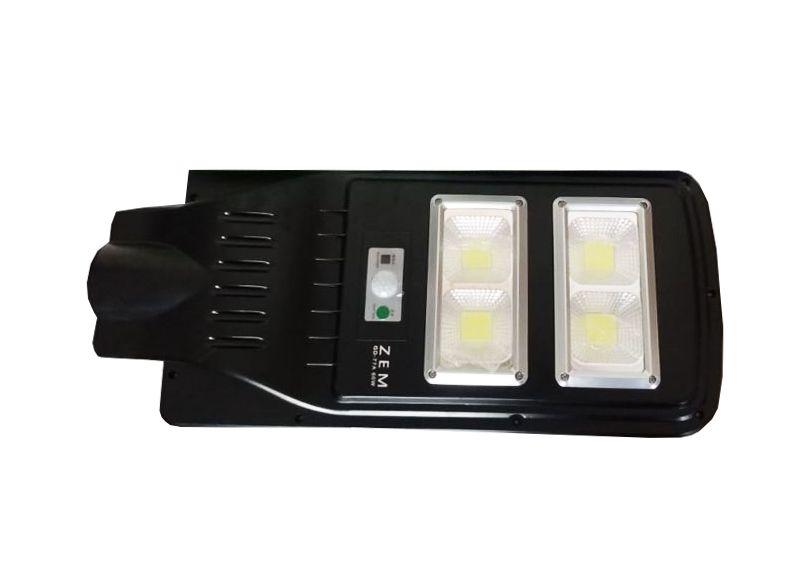 Luminária Pública Poste Solar Led 60w Com Sensor Number Two