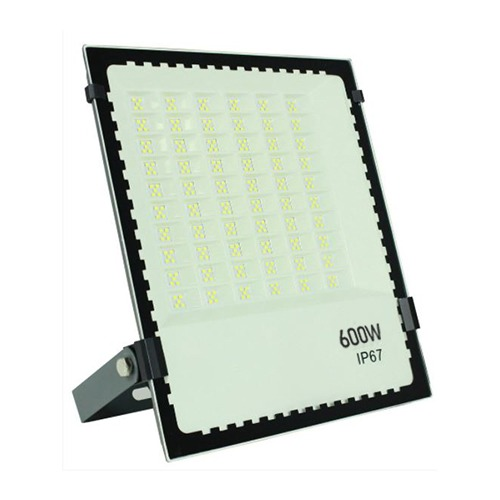Refletor Microled SMD 600W Branco Frio IP67