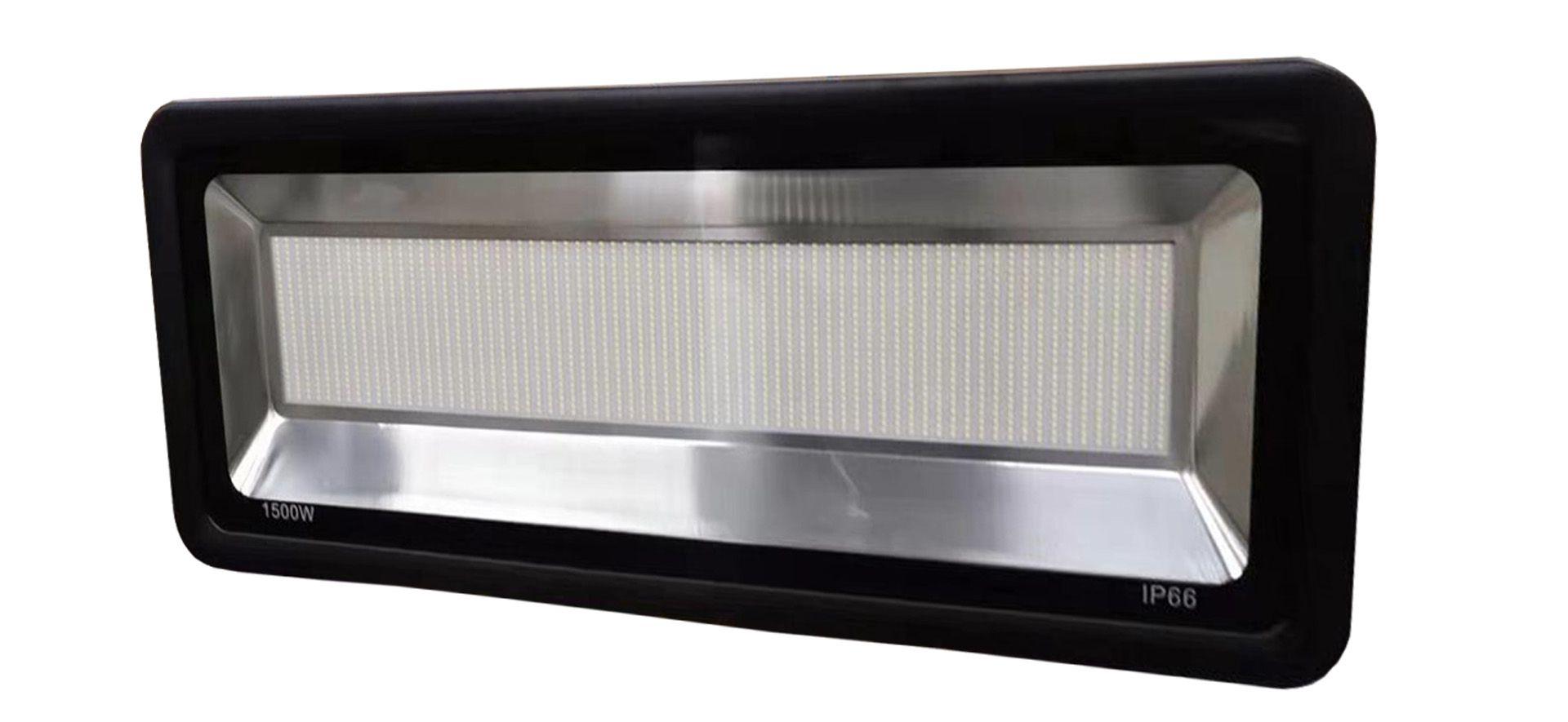 Refletor projetor smd led holofote 1500w Ultra Potente Branco frio IP66
