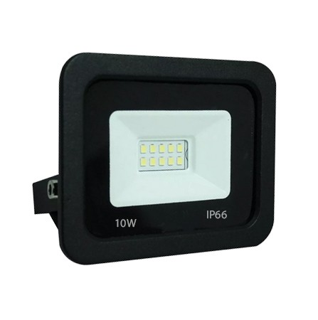 Refletor smd Holofote Led Projetor Branco frio 6500k Bivolt IP66 10w