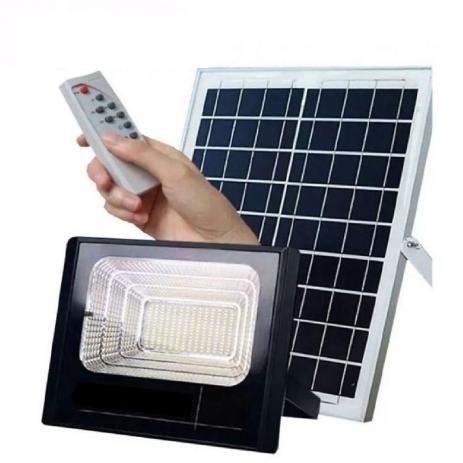 Refletor SMD Holofote Solar Ultra Led 150w Real  / Com controle Remoto