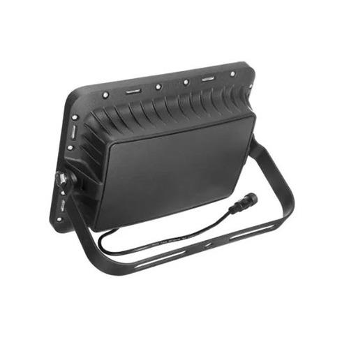 Refletor Solar Led de 200W Branco Frio IP66   com Controle Remoto
