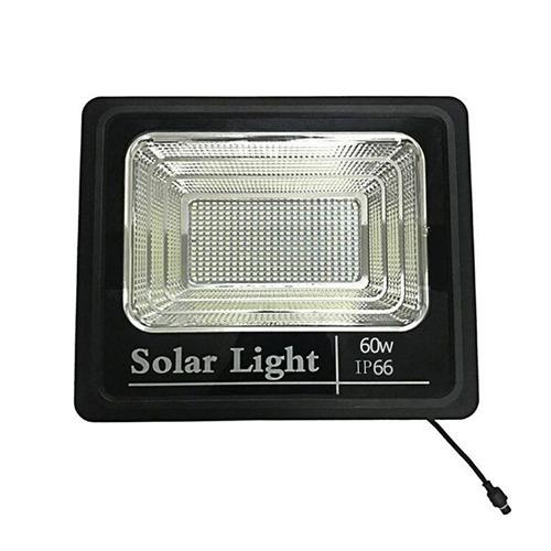Refletor Solar Light 60W IP66   com Controle Remoto