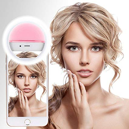 Selfie Ring Light Clipe Anel Led Flash Luz De Selfie Para Celular
