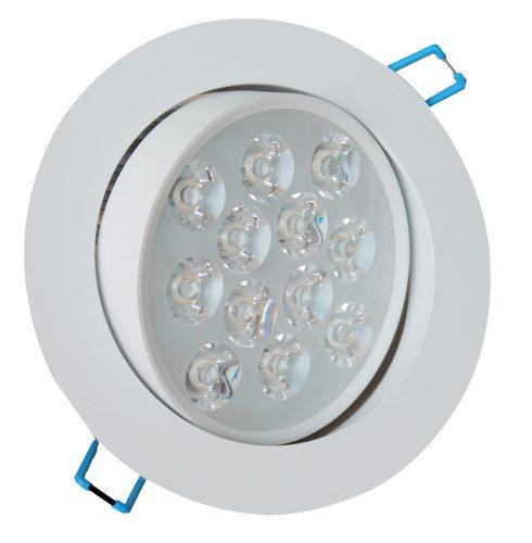 Spot Redondo Led 9w Branco Frio Lâmpada Direcionável