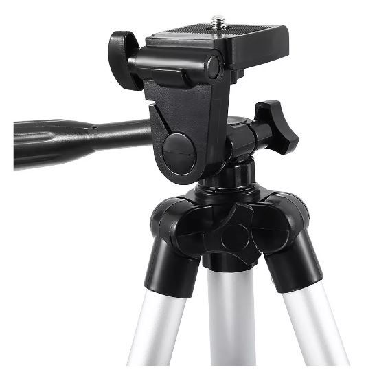 Tripé Universal 3110 Telescópico Para Câmera Celular 1m