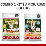 COMBO Com 2 Kit's Amigurumi Coelhos