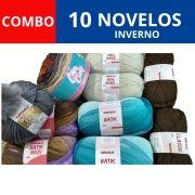 COMBO Novelos de Inverno (cores/modelos variados)
