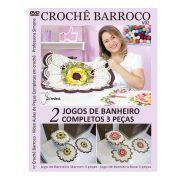 DVD Crochê Barroco Jogos de Banheiro Professora Simone