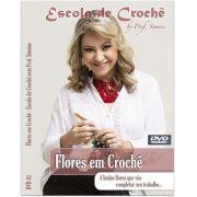 DVD Flores de Crochê Professora Simone