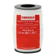 Elástico Premium Círculo 50mts BRANCO