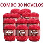 Kit 30 novelos Linha Anne 500 Brilho Círculo S/A