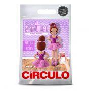 Kit Amigurumi Boneca Bailarinas Crochê Círculo S/A